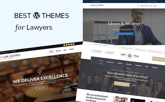 Los mejores temas de WordPress para abogados y firmas legales