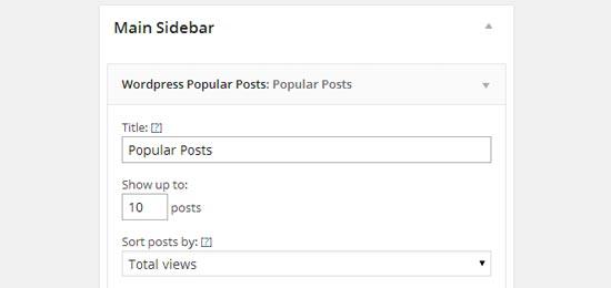 Publicaciones populares de WordPress
