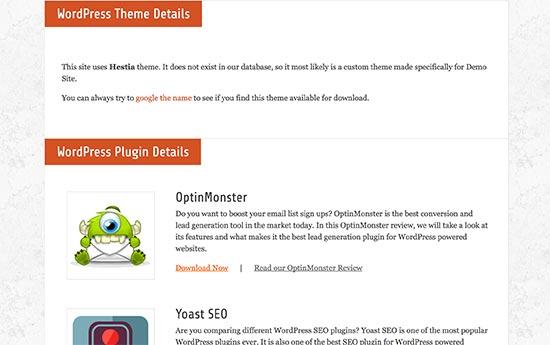 WordPress mövzusu və plagin detalları