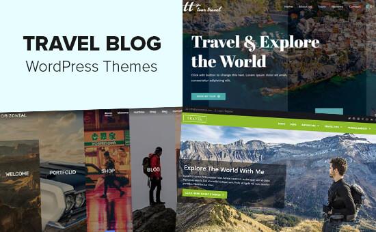 Los mejores temas de WordPress para blogs de viajes
