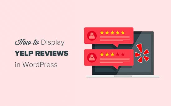 Reseñas de Yelp WordPress