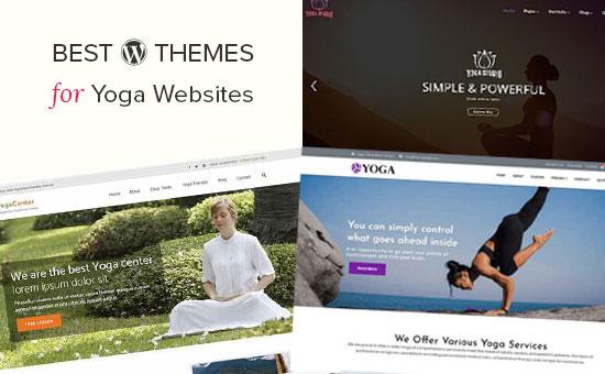 Los mejores temas de WordPress para sitios web de yoga