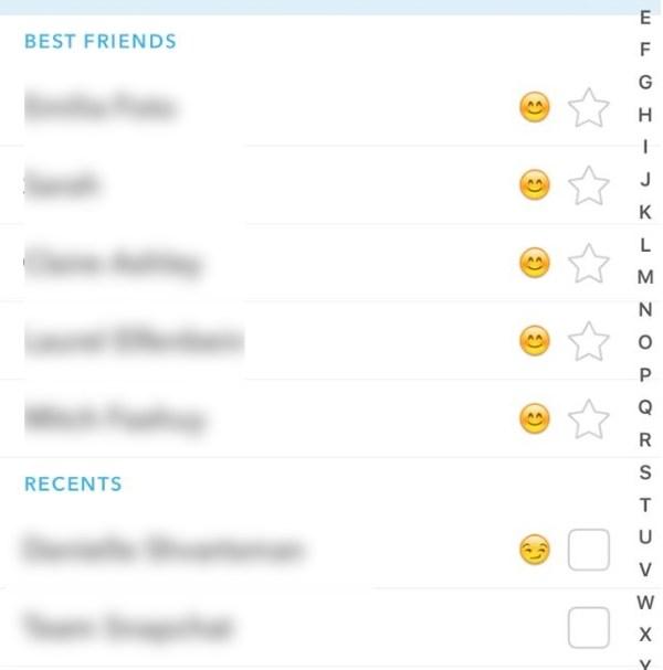 ¿Con qué frecuencia se actualizan los datos de Best Friends en Snapchat?  1