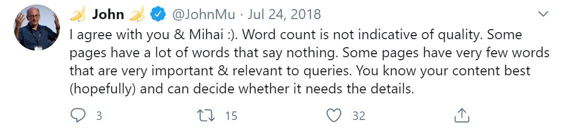 ¿Cuál es el mejor recuento de palabras para SEO?