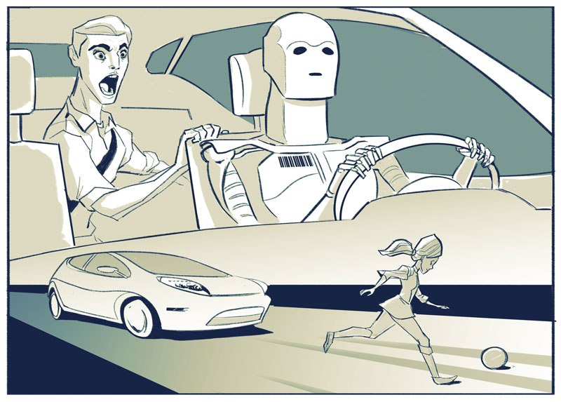 Dilemas éticos en autos sin conductor3
