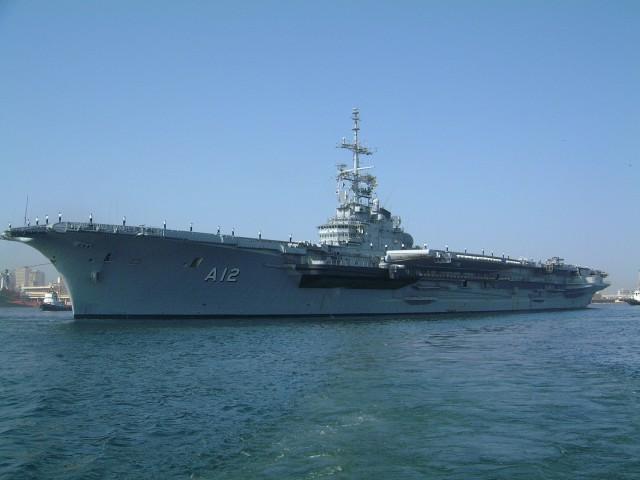 Portaaviones clase Clemenceau operado por Brasil Los buques de guerra más grandes del mundo
