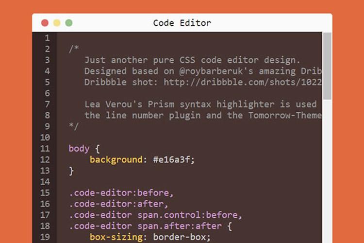 10 đoạn CSS và JavaScript để làm nổi bật cú pháp đẹp 2