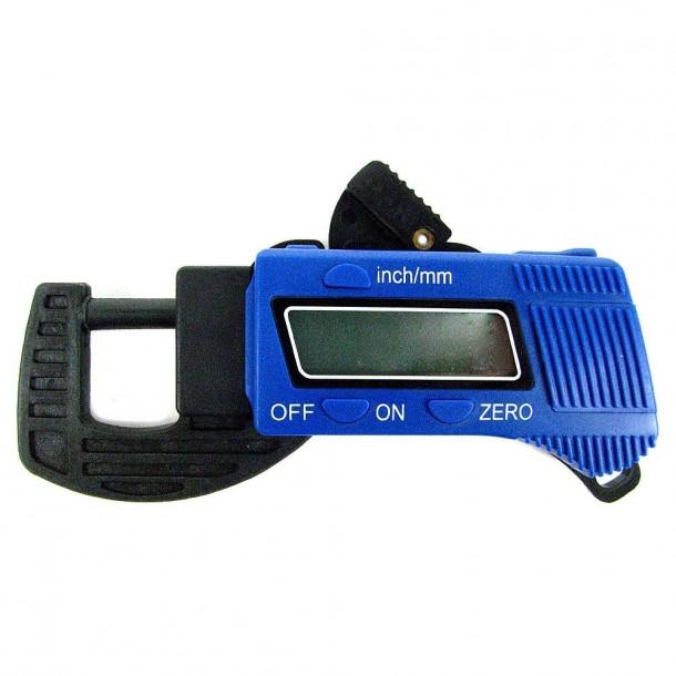 Herramientas de marcas comerciales 75-15005 Calibrador de espesor digital Micrómetros Calibradores