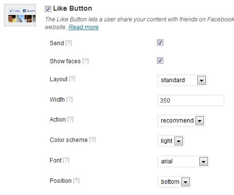 agregar botón me gusta