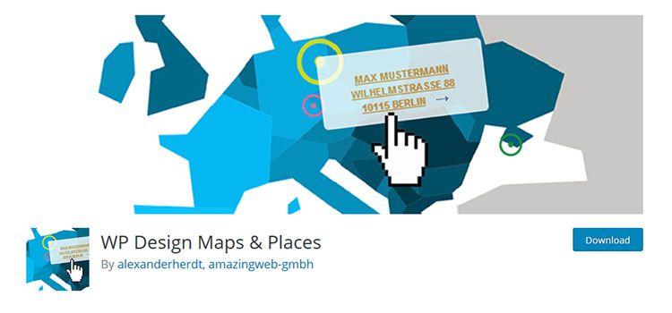 Navrhnite mapy a miesta WP