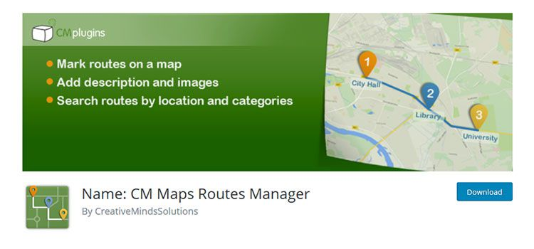 Tên: CM Maps Routes Manager