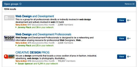 Prepojená skupina pre webový dizajn