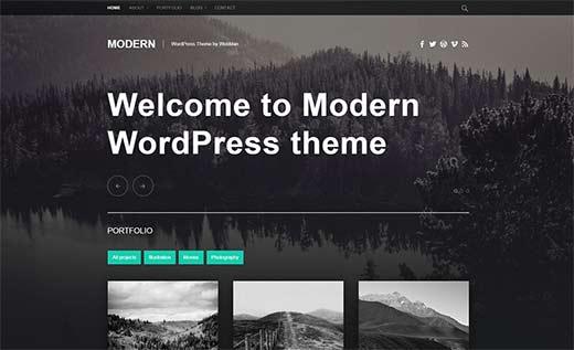 moderný