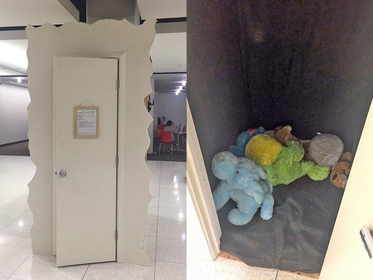 La Universidad de Utah instala un armario de llanto para estudiantes estresados