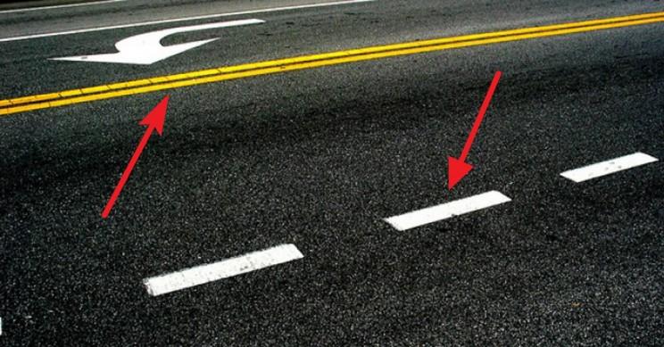 Aquí está la razón detrás de las diferentes líneas de carreteras de colores