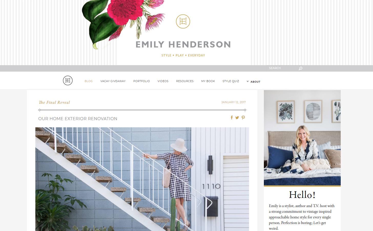 emily henderson blog