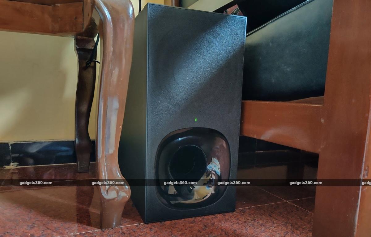 sony ht z9f revisó el subwoofer Sony HT-Z9F