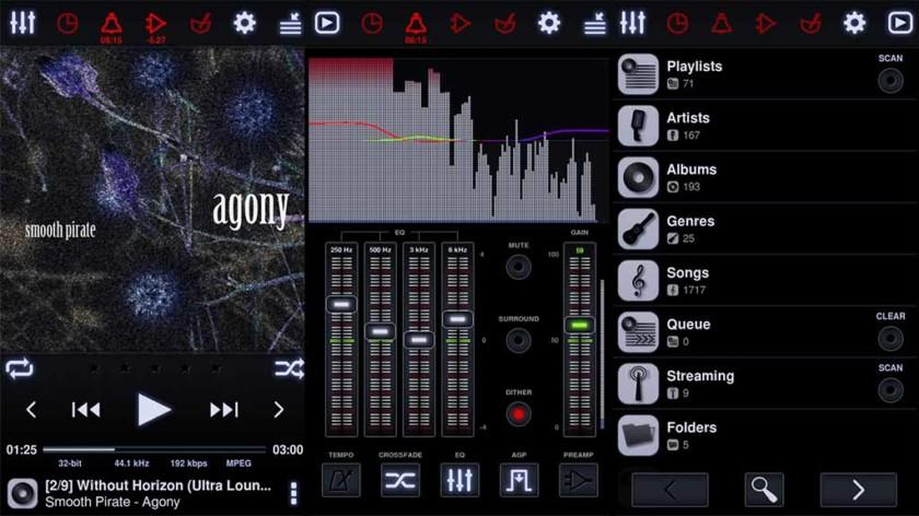 Neutron Player: la mejor aplicación de reproductor de música para Android