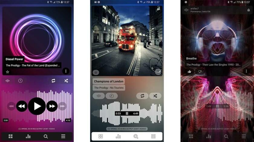 Poweramp: la mejor aplicación de reproductor de música para Android