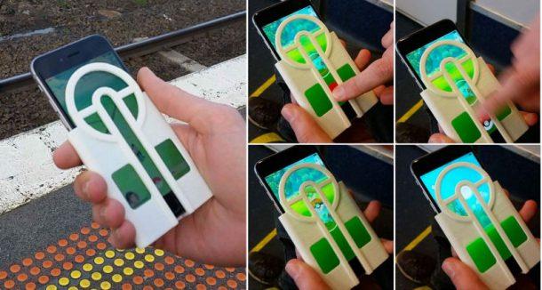 Nunca te pierdas otro Pokémon con esta funda de teléfono impresa en 3D para apuntar tus Pokéballs_Image 1