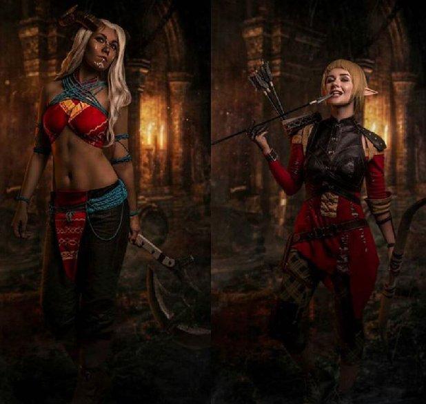 Este cosplay de Dragon Age Inquisition Qunari es más que perfecto 3