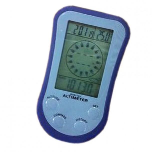 Altímetro digital multifunción brújula barómetro estación meteorológica termómetro