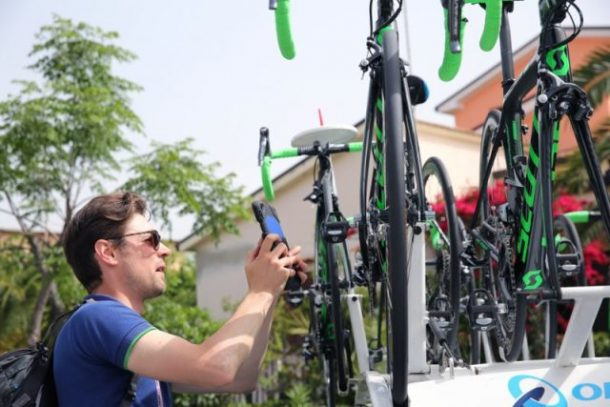 comprobación de bicicletas para motores