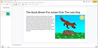 Agregar animaciones a Google Slides 2