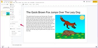Agregar animaciones a Google Slides 4
