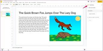 Agregar animaciones a Google Slides 5