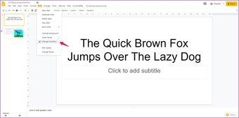 Agregar animaciones a las diapositivas de Google 13