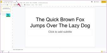 Agregar animaciones a las diapositivas de Google 12