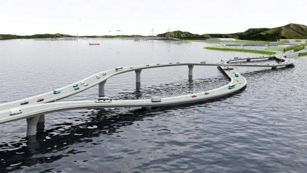 Puente sobre el collar del río Pearl Una solución retorcida a un curioso problema de tráfico_Imagen 2