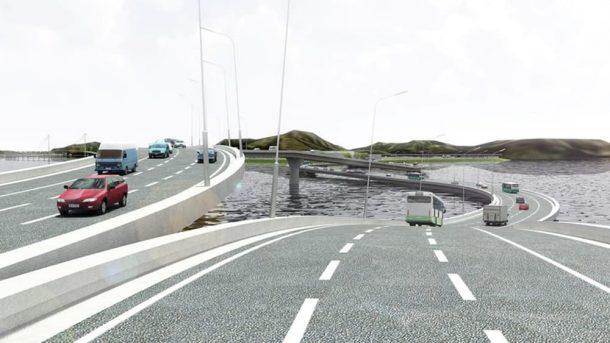 Pearl River Necklace Bridge Una solución retorcida a un problema de tráfico curioso_Imagen 1