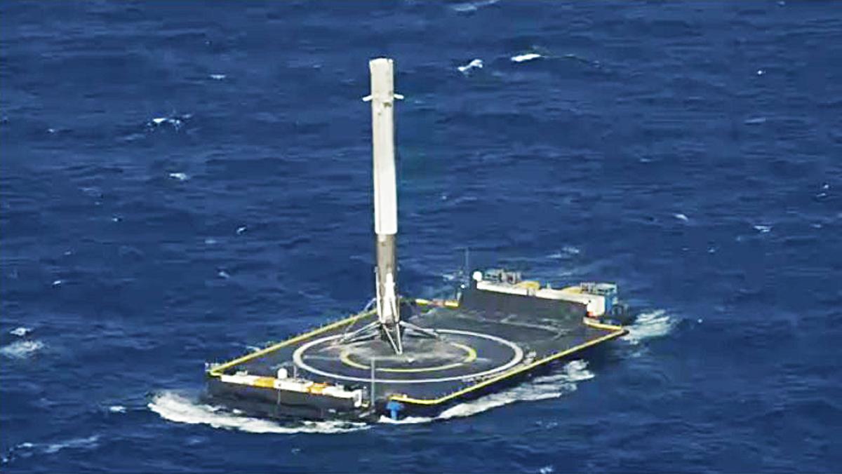 Falcon 9 modelo rocket2