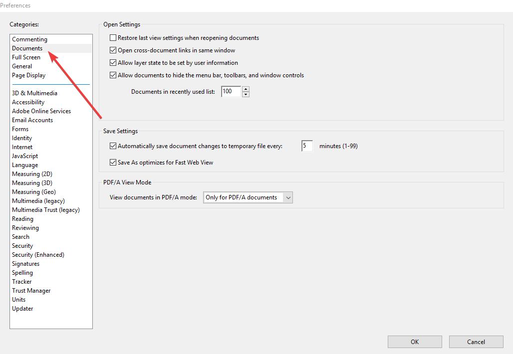 ¿Desea guardar los cambios en el PDF antes de cerrar?