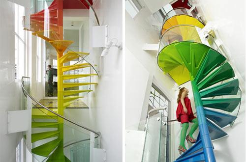 Echa un vistazo a estas increíbles escaleras 9