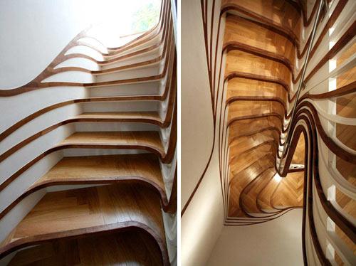 Echa un vistazo a estas increíbles escaleras 20