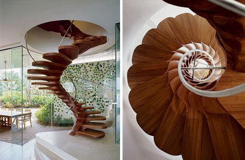 Echa un vistazo a estas increíbles escaleras 21