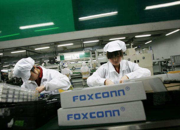 Foxconn despide a 60000 trabajadores