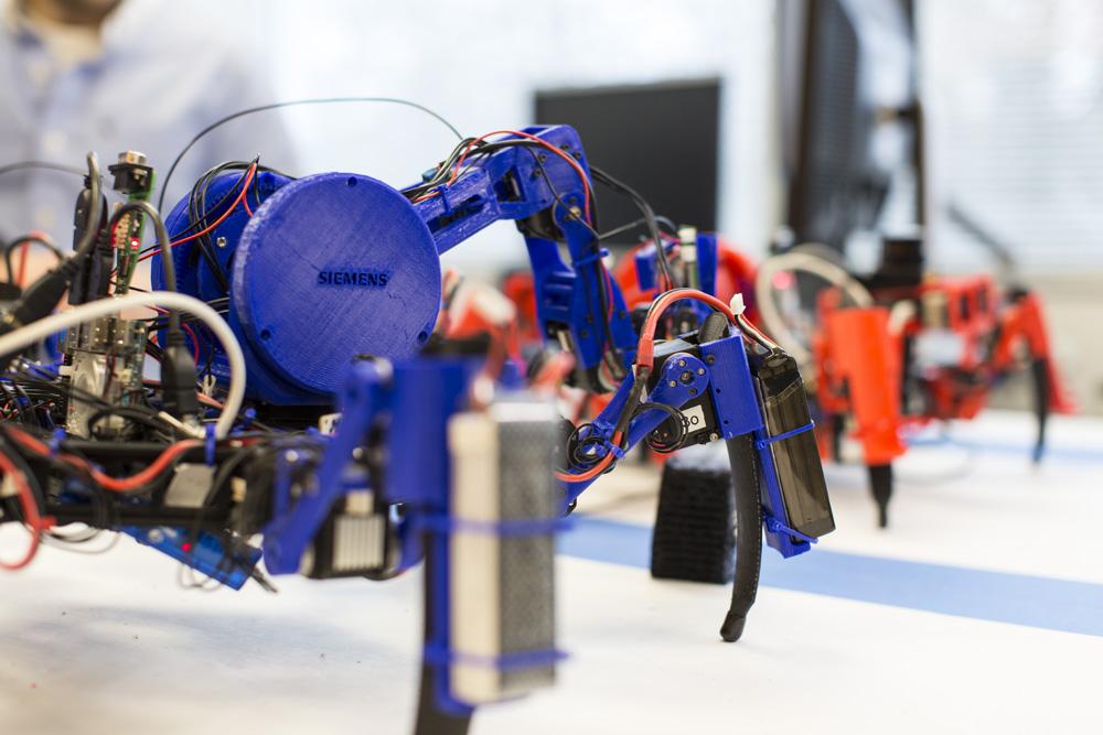 Siemens Robotics Lab / Princeton, Nueva Jersey / Estados Unidos