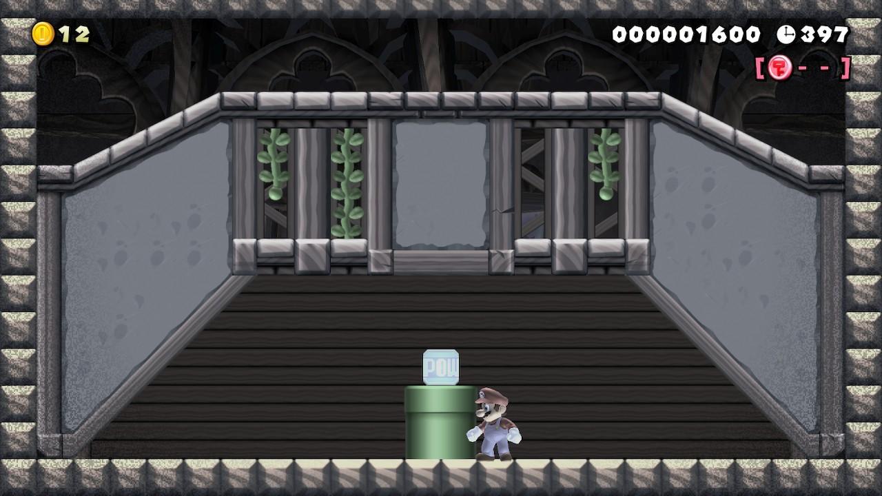 Estoy contento con la creatividad del creador.  Los jugadores crean misiones FPP en el Super Mario Maker 2 wizard 4