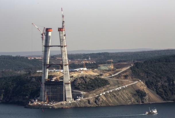 Tercer puente del Bósforo: el puente más ancho del mundo está cerca de su finalización 2