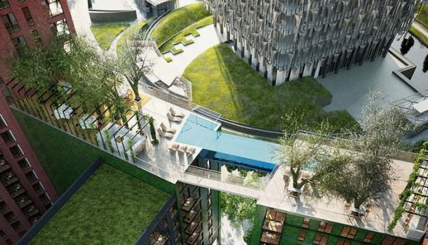Londres pronto tendrá el primer Sky Pool 4 del mundo