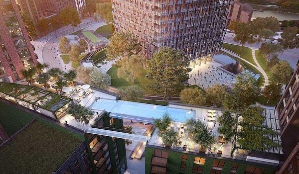 Londres pronto tendrá el primer Sky Pool 2 del mundo