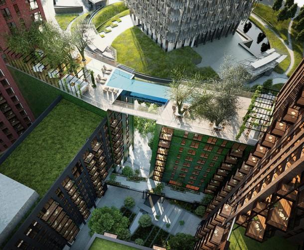 Londres pronto tendrá el primer Sky Pool 3 del mundo