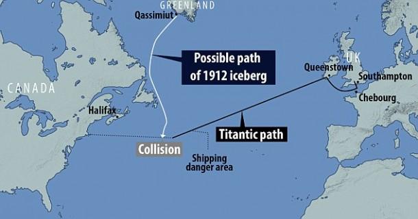 Titanic Sinker Iceberg tenía 100.000 años, afirman los científicos 3