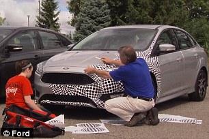 Así es como Ford protege sus últimos diseños de Prying Eyes 2