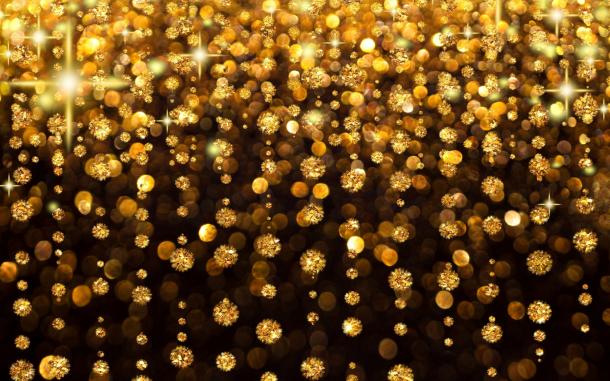 Sparkling golf HD Glitter Wallpaper