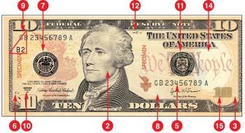 cómo cambiar 10 $ bill a 50 $ 3